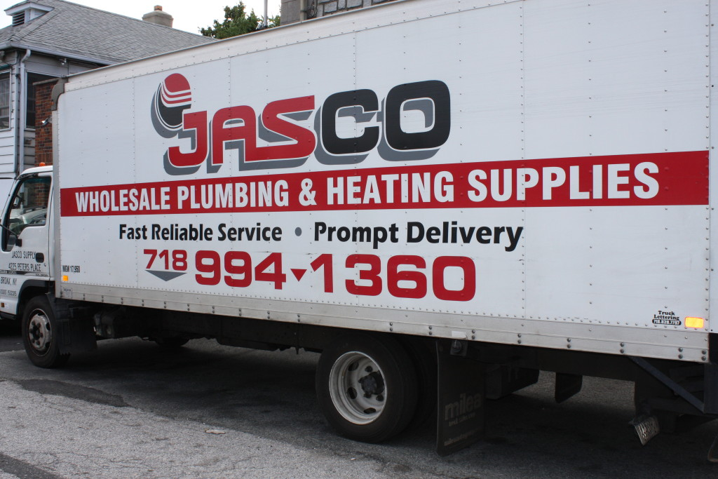 Jasco Plumbing & Heating Supply Deliveries