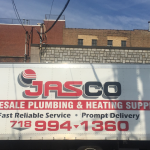 Jasco Plumbing and Heating Supply Delivery